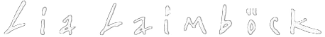 Lia Laimbock Artist Logo